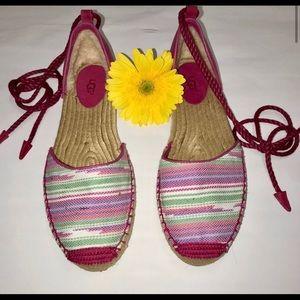 UGG Espadrilles sandals furious fuchsia 1011189